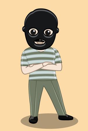 felonious: Balaclava Robber Character
