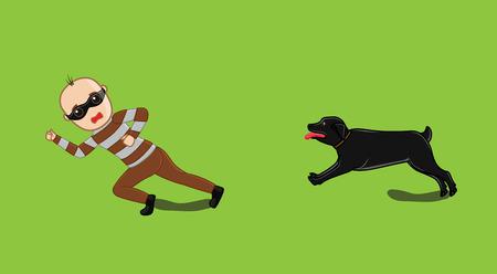 murderer: Dog Following a Robber