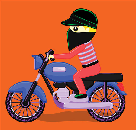 mobster: Robber on Bike