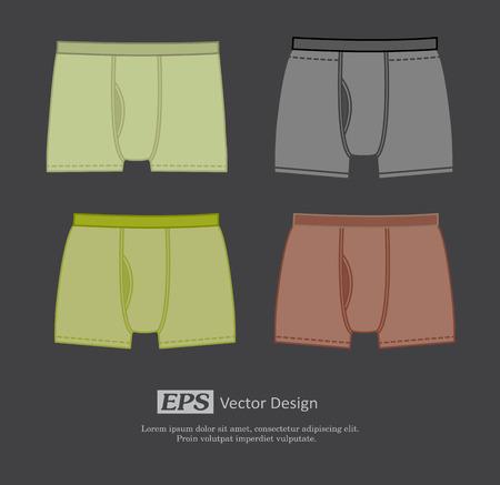 bikini model: Colored Underwear Set