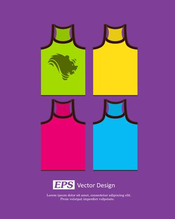 gents: Colorful Gents Gym-Vest Set
