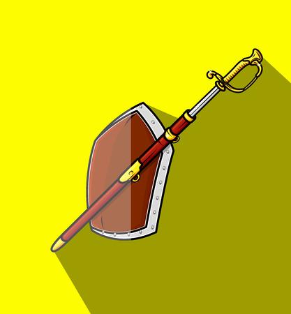 ninja tool: Heraldic Sword and Shield