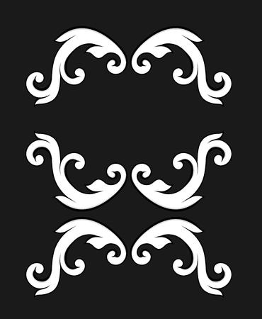 Rococo Floral Elements