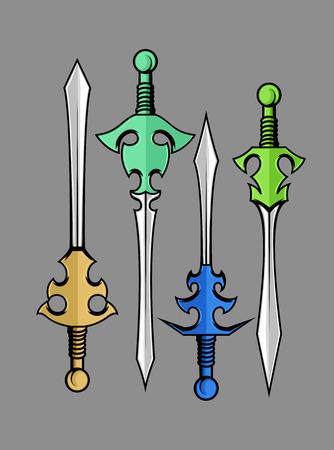 buckler: Swords Vector Designs