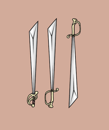 buckler: Katana Swords