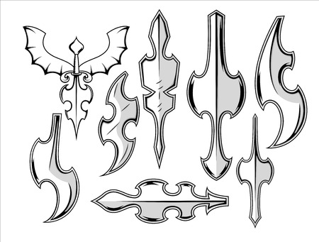 weapons: Ancient Metallic Weapons Collection