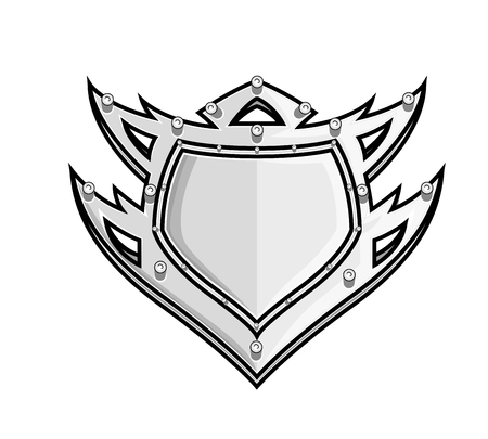 ninja tool: Tribal Shield Design Illustration