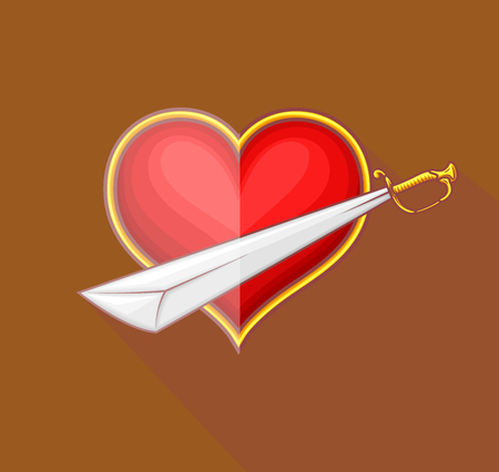 combatant: Heart with Sword