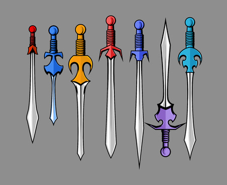 Swords Vector Collection Illustration