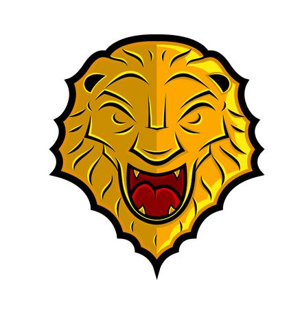 armory: Lion Head Shield Design