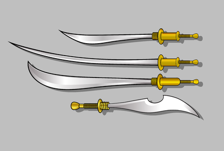 weapons: Gladiator Swords and Weapons