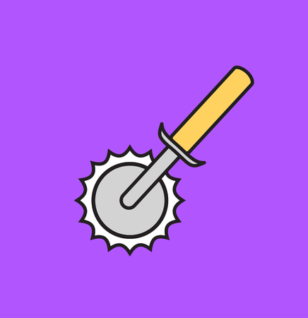 cutter: Pizza Cutter Vector