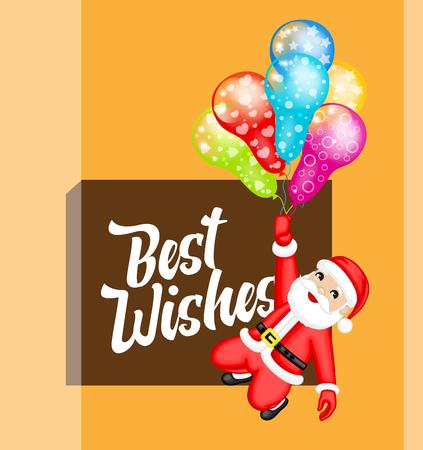 greeting christmas: Christmas Wishes Greeting Card
