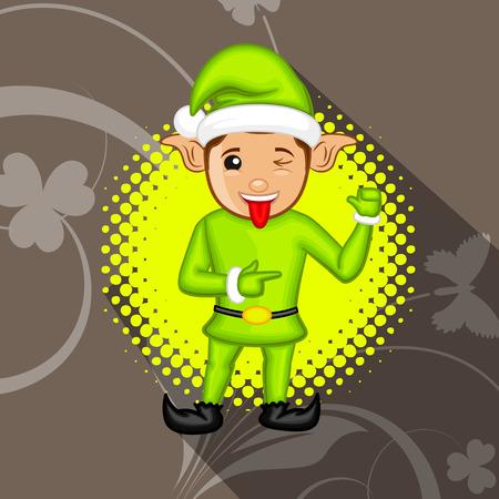 naughty: Naughty Kid Elf Character
