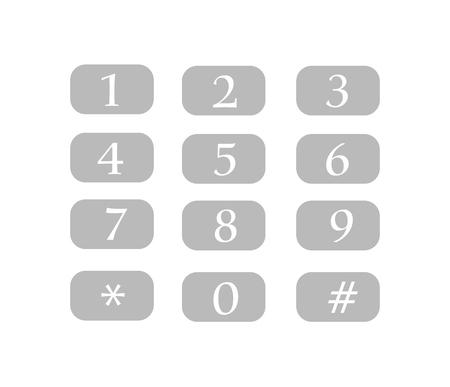 numpad: Num Keys Vector