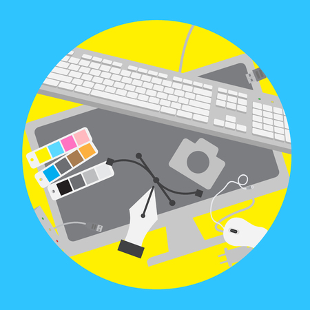 Graphic and Computer Elements Vector