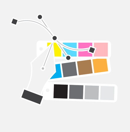 Vector Pen Tool and Color Chart