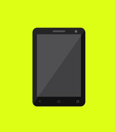big screen: Big Screen Smartphone Vector Illustration