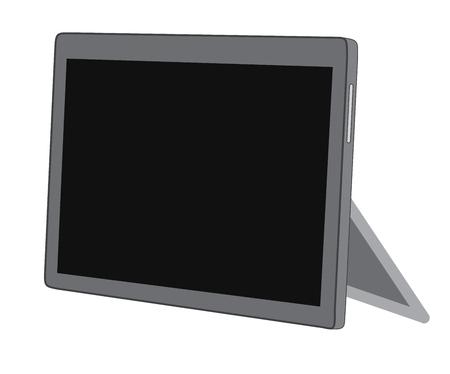 palmtop: Tablet Stand Vector