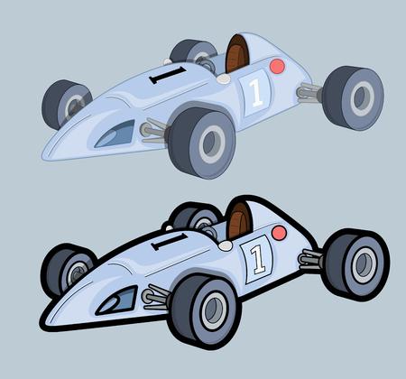 Formula racing Cars Vector Designs