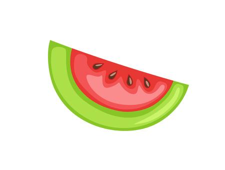 chunk: Chunk of Watermelon Vector