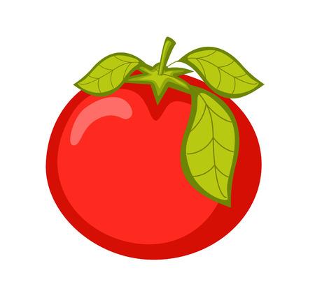 ripe: Ripe Tomato Vector