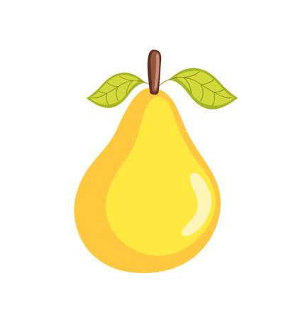 Fresh Pear Vector