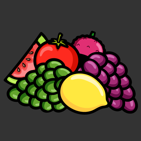 mix: Mix Fruits for Salad