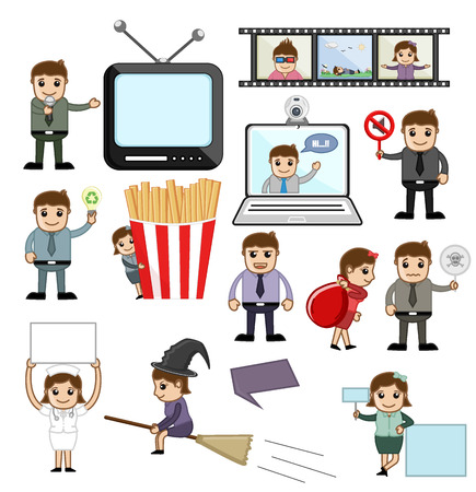 Vectors of Media and Business Concepts