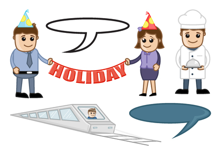 Holiday and Travel Vector Illustration