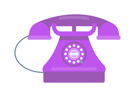keypad: Old vintage keypad mobile phone and icon of old classic mobile phone antique vector. Old style mobile phone technology retro cellphone vector illustration isolated
