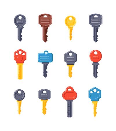 vintage key: Vintage key antique door key isolated on white background. Access household vintage key. Retro door metal security vintage key and vintage key safe house decorative. Decorative key silhouette
