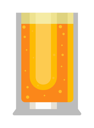 condensation on glass: Beer glass isolated on white background. Light beer cup alcohol alcohol drink. Beer cup mug liquid white foam and bubble cold drip. Golden light beer glass