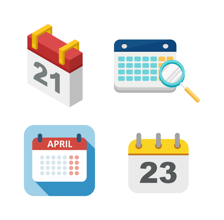 schedule appointment: Calendar icon vector isolated, calendar icon graphic reminder element message symbol. Calendar icon message template shape office calendar icon appointment. Binder schedule calendar icon. Illustration