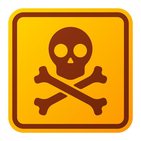 Attention hight voltage icon danger button and attention warning sign. Attention security alarm symbol. Danger warning attention sign with symbol danger zone information and notification icon vector Imagens - 60923468