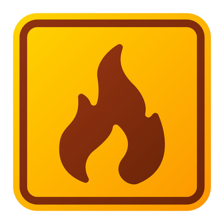 attention sign: Attention fire flame icon danger button and attention warning sign. Attention security alarm symbol. Danger warning attention sign with symbol information and notification icon vector