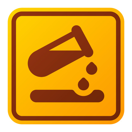 security alarm: Attention biology viruses icon danger button and attention warning sign. Attention security alarm symbol. Danger warning attention virus sign with symbol information and notification icon vector