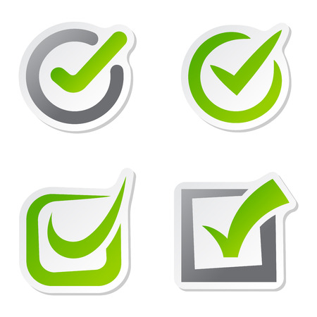 right to vote: Check box  icons set. Check vote icons vote mark sign choice yes symbol. Correct design check vote icons check mark right agreement voting form. Button question choose success graphic.