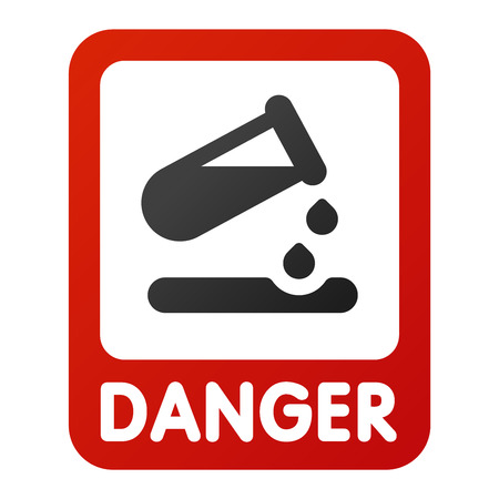 Attention icon danger button and attention warning sign. Attention security alarm symbol. Danger warning attention sign with symbol information and notification icon Illustration