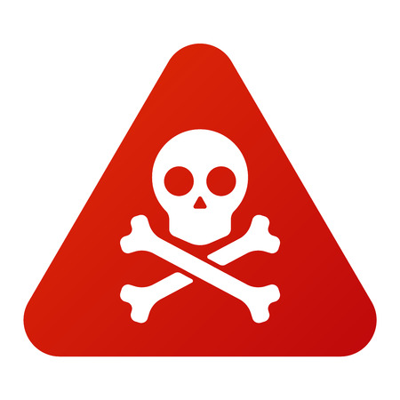Attention, la tension de hight bouton icône de danger et d'attention signe d'avertissement. sécurité Attention symbole d'alarme. Danger panneau d'avertissement de l'attention avec les informations de zone symbole de danger et l'icône de notification vecteur