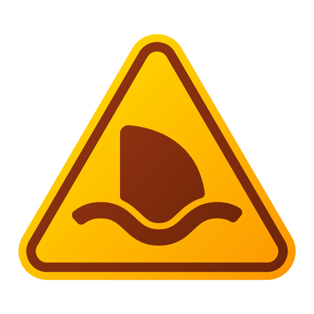 security alarm: Attention shark icon danger button and attention warning sign. Attention security alarm symbol. Danger warning attention sign shark with symbol information and notification icon vector