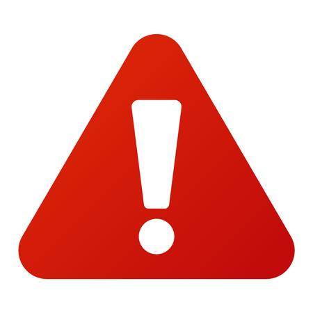 Attention icône bouton danger et l'attention signe d'avertissement. sécurité Attention symbole d'alarme. Danger panneau d'avertissement de l'attention avec les informations de symbole et l'icône de notification vecteur