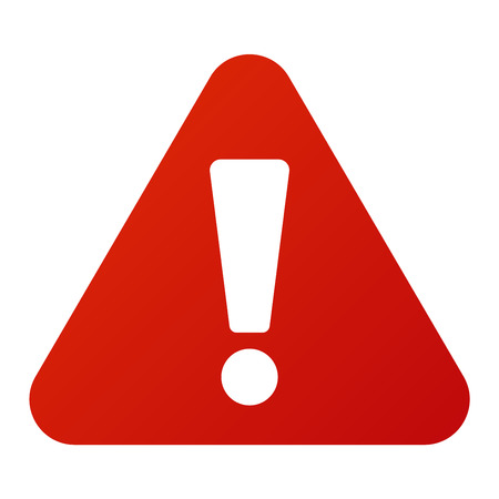 Attention icon danger button and attention warning sign. Attention security alarm symbol. Danger warning attention sign with symbol information and notification icon vector 版權商用圖片 - 61463260