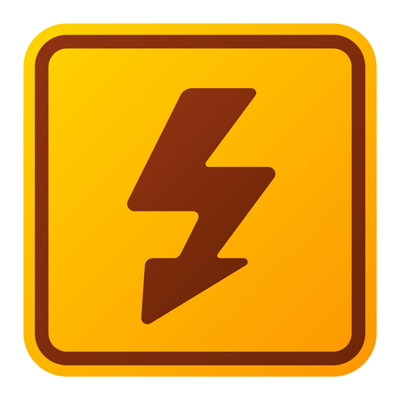 voltage symbol: Attention hight voltage icon danger button and attention warning sign. Attention security alarm symbol. Danger warning attention sign with symbol danger zone information and notification icon vector