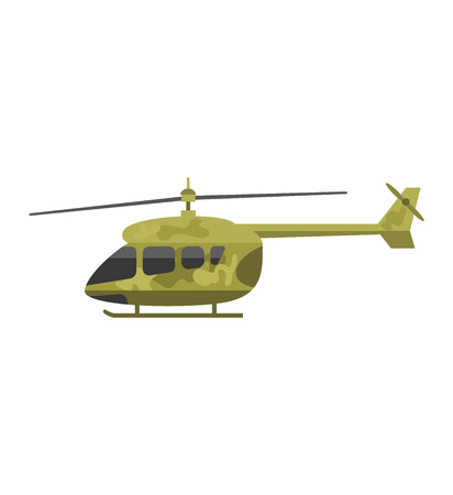 blackhawk helicopter: Military helicopter hawk flat render air transportation army vector illustration. Air transportation army military helicopter and war aviation military helicopter. Helicopter vehicle attack. Illustration