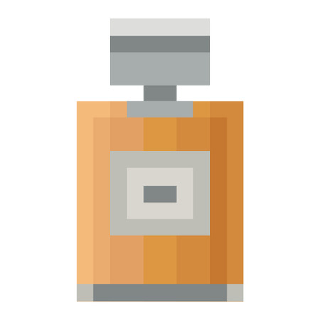 odors: Vctor perfume fashion container template blank. Vector illustration perfume bottle symbol elegant merchandise gift. Beauty liquid luxury aroma perfume bottle template. Illustration