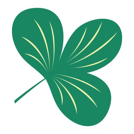 Hoja verde del icono del eco elemento de diseño. Icono de la hoja ilustración vectorial naturaleza amigable elegancia símbolo. Icono de la decoración flora hoja en blanco. Natural ecología elemento símbolo de icono verde orgánico