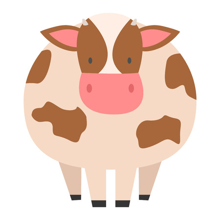 heifer: Milk cow bull with calf bull buffalo. Different cow dairy farm beef, nature domestic farm animal. Cartoon cow action , with cute lovely heifer vector.