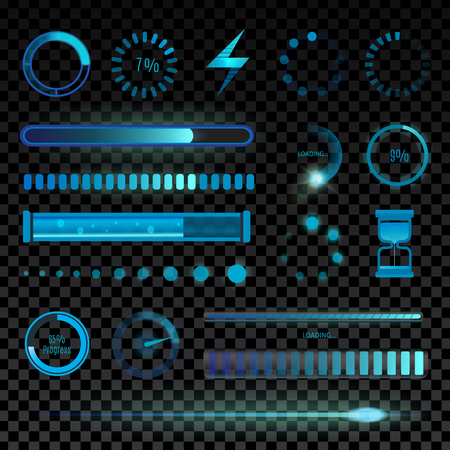 interface icons: Vector icons for mobile applications design web internet set. Mobile interface icon set simple series download media tablet. Interface icons single object mobile user collection. Illustration