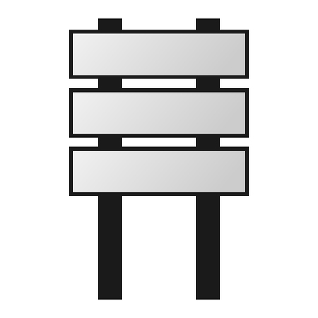 outdoor advertising: Advertisement billboard and outdoor advertisement template. Business poster promotion advertising areas vector. Commercial empty outdoor advertising billboard vector blank Illustration